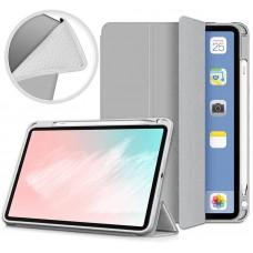 Чехол книжка TPU BeCover Direct Charge Pen для Apple iPad Air 10.9 2020 Gray (705530)
