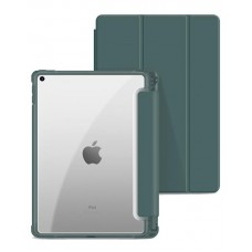 Чехол книжка PU BeCover Soft Edge для Apple iPad Air 10.9 2020 Dark Green (705535)