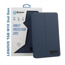 Чехол книжка PU BeCover Premium для Lenovo Tab M10 TB-X306F HD 2nd Gen Deep/Blue (705631)