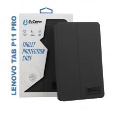 Чехол книжка PU BeCover Premium для Lenovo Tab P11 Pro TB-J706 Black (705632)