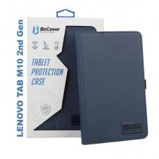 Чехол книжка PU BeCover Slimbook для Lenovo Tab M10 TB-X306F HD 2nd Gen Deep/Blue (705634)