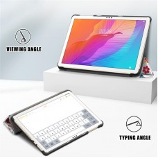 Чехол книжка PU BeCover Smart Case для Huawei MatePad T 10 Butterfly (705927)