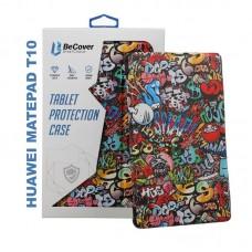 Чехол книжка PU BeCover Smart Case для Huawei MatePad T 10 Graffiti (705930)