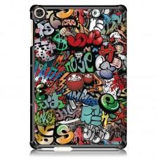 Чехол книжка PU BeCover Smart Case для Huawei MatePad T 10s Graffiti (705940)
