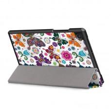 Чехол книжка PU BeCover Smart Case для Samsung Tab A7 T500 T505 T507 Butterfly (705946)