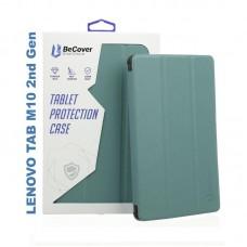 Чехол книжка PU BeCover Smart для Lenovo Tab M10 HD 2nd Gen TB-X306 Dark Green (705969)