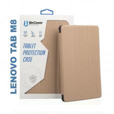Чехол книжка PU BeCover Smart для Lenovo Tab M8 TB-8505 Gold (705980)