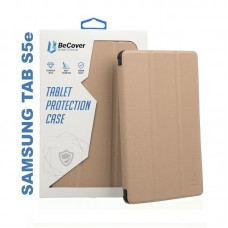 Чехол книжка PU BeCover Smart для Samsung Tab S5e T720 T725 Gold (705989)