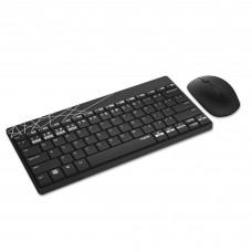 Комплект клавиатура + мышь Rapoo 8000M Wireless Black