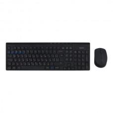 Комплект клавиатура + мышь Rapoo 8100M Wireless Black