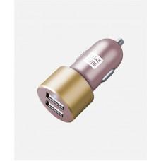 Адаптер автомобильный Luxe Cube 2USB 3.4A 17W Pink (8886668686228)