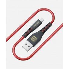 Кабель Luxe Cube Kevlar USB-Type-C 1.2m Red (8886668686273)