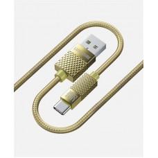 Кабель Luxe Cube Premium USB-Type-C 1m Gold (8889996899681)