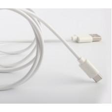Кабель USB-Type-C Aspor A173 2.1А 1.2m White (910168)