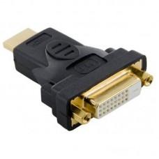Переходник DVI-HDMI 24pin Atcom Black