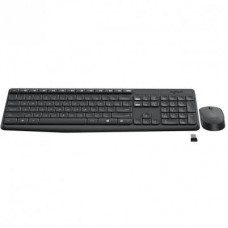 Комплект клавиатура + мышь Wireless Logitech MK235 Black USB (920-007948)