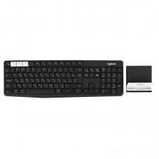 Клавиатура Logitech Wireless K375s Graphite Black USB (920-008184)