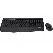Комплект клавиатура + мышь Wireless Logitech MK345 Combo Black USB (920-008534)