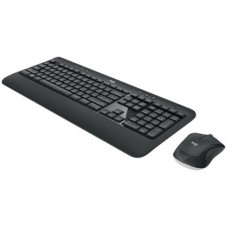 Комплект клавиатура + мышь Wireless Logitech MK540 Advanced Black USB (920-008686)