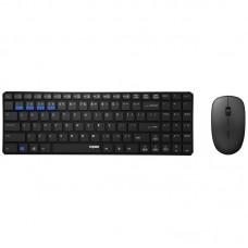 Комплект клавиатура + мышь Rapoo 9300M Wireless Black