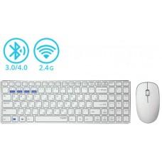Комплект клавиатура + мышь Rapoo 9300M Wireless White