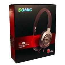 Наушники накладные Somic MH438 Black (9590009018)