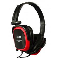 Наушники гарнитура накладные Somic PC513 Black/Red (9590009027)