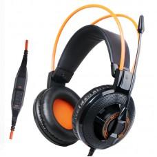 Наушники гарнитура накладные Somic G925 Black/Orange (9590009919)