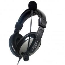 Наушники гарнитура накладные Somic ST2688 Black/Silver (9590010338)