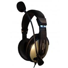 Наушники гарнитура накладные Somic ST2688 Black/Gold (9590010346)