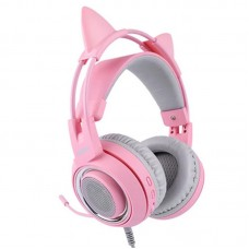 Наушники гарнитура накладные Somic G951S Pink (9590010364)