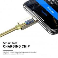 Кабель Luxe Cube Premium USB-Lightning 1m Grey (9780201379648)