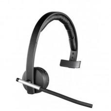 Наушники гарнитура накладные Bluetooth Logitech H820e Black (981-000512)