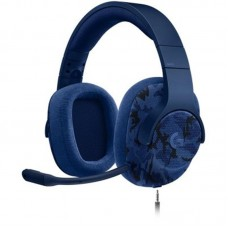 Наушники гарнитура накладные Logitech G433 Blue Camo (981-000688)
