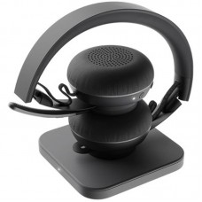 Наушники гарнитура накладные Bluetooth Logitech Zone Plus Graphite Black (981-000806)