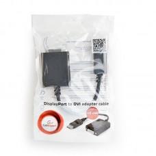 Адаптер DisplayPort-DVI 03 Cablexpert 0.1m Black