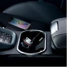 Адаптер автомобильный Anker PowerDrive+ 2 2USB 3A QC3.0 V3 Black (A2224H11)