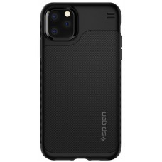 Чехол накладка TPU Spigen Hybrid NX для iPhone 11 Pro Max Matte Black (ACS00285)