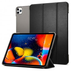 Чехол книжка Spigen PU Smart Fold для Apple iPad Pro 12.9 2020 Black (ACS00893)
