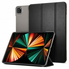 Чехол книжка PU Spigen Smart Fold для Apple iPad Pro 12.9 2021 Black (ACS02882)