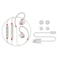 Наушники гарнитура вакуумные Bluetooth TCL ACTV100BT Crimson White (ACTV100BTWT-EU)