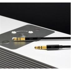 Кабель Audio 3.5мм-3.5мм ZMI Braided 1m Black (AL103)
