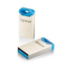 Флешка USB 16GB Apacer AH111 Silver/Blue (AP16GAH111U-1)