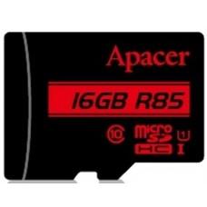 Карта памяти MicroSDHC 16GB UHS-I Class 10 Apacer + Adapter SD (AP16GMCSH10U5-R)