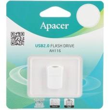 Флешка USB 32GB Apacer AH116 White (AP32GAH116W-1)