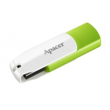 Флешка USB 32GB Apacer AH335 White/Green (AP32GAH335G-1)