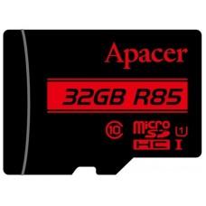 Карта памяти MicroSDHC 32GB UHS-I Class 10 Apacer + Adapter SD (AP32GMCSH10U5-R)