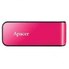 Флешка USB 2.0 64GB Apаcer AH334 Pink (AP64GAH334P-1)