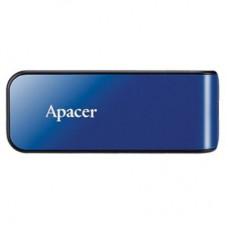 Флешка USB 2.0 64GB Apаcer AH334 Blue (AP64GAH334U-1)