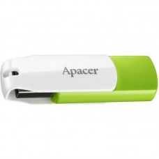 Флешка USB 64GB Apacer AH335 White/Green (AP64GAH335G-1)